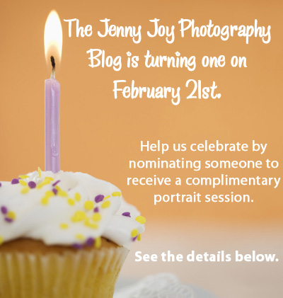 The Jenny Joy Photography blog is turning one!